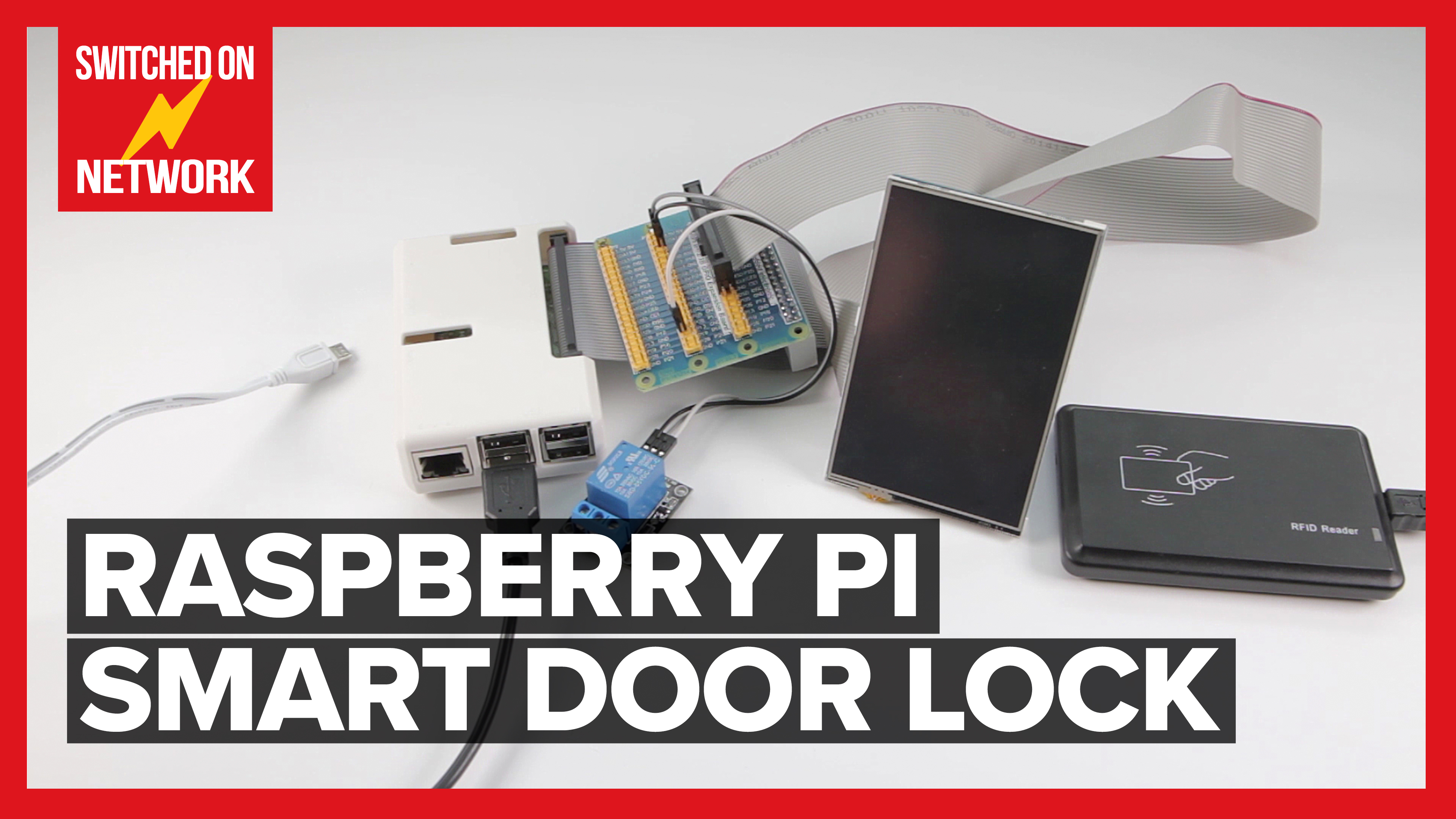 Build a Raspberry Pi Smart Door Lock Security System for your Smart